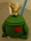 Držiak na perá - žabka